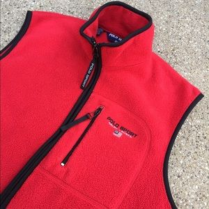 Vintage Polo Sport Vest Women's Medium